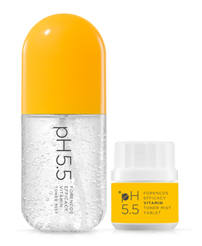 pH5.5 Epikacyvitamin acid acidity Toner Mist Pill Mist